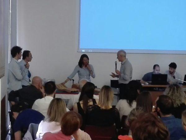 Dr. Francesca Vendramini presenting backrack